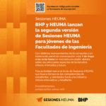 BHP y Consorcio HEUMA ofrecen a la comunidad una sesión abierta sobre minería y futuro